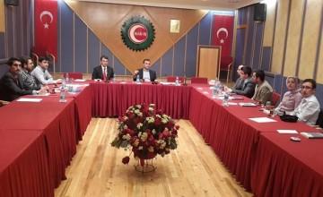 HAK-İŞ GENEL SEKRETERİ SN.OSMAN YILDIZ'I ZİYARET ETTİK