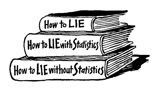 TELLING LIES WITH STATISTICS