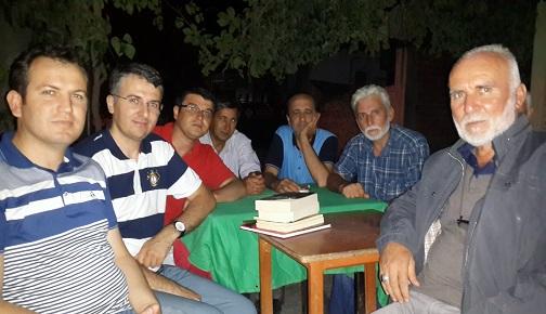 ÜSTAD HASAN AYCIN'I ZİYARET ETTİK