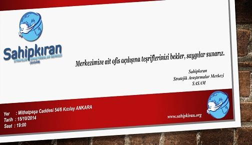 SASAM ANKARA OFİSİ AÇILIYOR