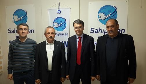 UKRAYNALI HEYET SASAM'I ZİYARET ETTİ