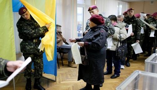 UKRAYNA 2014 PARLAMENTO SEÇİM SONUÇLARI