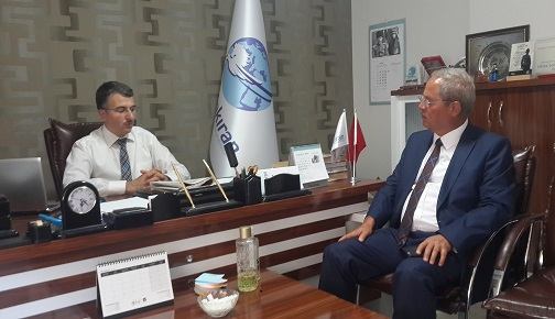 AVRASYA GAZETECİLER DERNEĞİ'NDEN SASAM'A ZİYARET