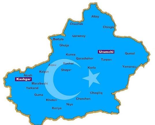 dogu-turkistan-haritasi
