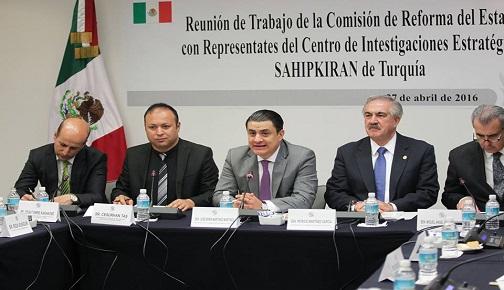 BAŞKANLIK SİSTEMİNİ İNCELEMEK ÜZERE MEKSİKA'YA GİDEN SASAM HEYETİ, TEMASLARINI TAMAMLADI