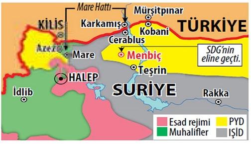 MENBİÇ'İN ALINMASI, KÜRT KORİDORU VE PKK'NIN ARTAN EYLEMLERİ