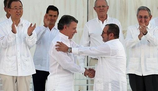 KOLOMBİYA'DA HÜKÜMET İLE FARC ARASINDAKİ MÜCADELE VE BARIŞ SÜRECİ