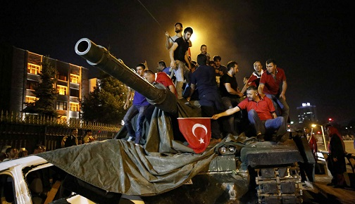 TURKEY-WEST RELATIONS AFTER THE FAILED COUP ATTEMPT
