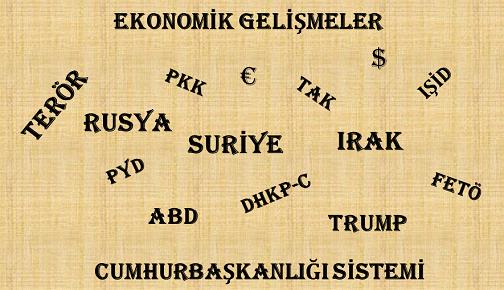 """SOHBETE DAVET: """"TÜRKİYE'DE VE DÜNYADA GÜNCEL GELİŞMELER"""""""