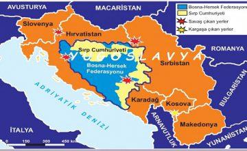 YUGOSLAVYA'DA MİLLİYETÇİLİĞİN YÜKSELMESİ VE YUGOSLAVYA'NIN DAĞILMASI