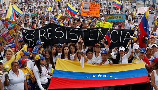 VENEZUELA'DA SİYASİ KRİZ BÜYÜYOR