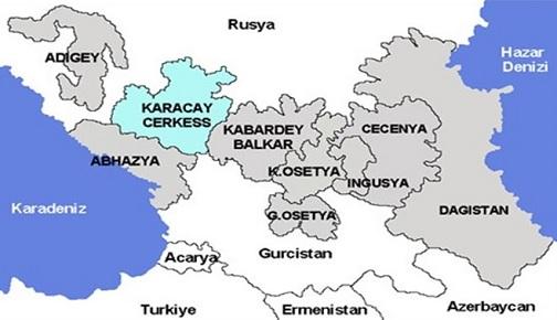 SOVYETLER BİRLİĞİ'NİN ARDINDAN KUZEY KAFKASYA