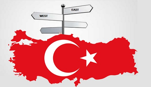 TURKEY'S DIRECTION; EAST OR WEST?