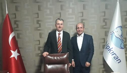 """""""İSLAMOFOBİ"""" FİLMİNİN YAPIMCISINDAN SASAM'A ZİYARET"""