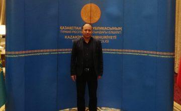 KAZAKİSTAN'IN BAĞIMSIZLIĞININ 27. YIL DÖNÜMÜ KUTLANDI