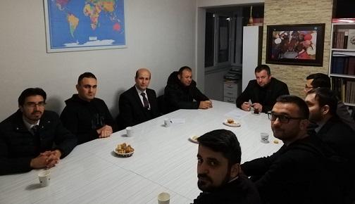 """""""DEĞERLER DÜNYAMIZ"""" BAŞLIKLI SÖYLEŞİMİZ GERÇEKLEŞTİ"""