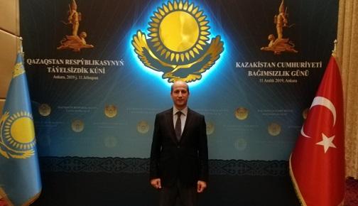 KAZAKİSTAN'IN BAĞIMSIZLIĞININ 28. YIL DÖNÜMÜ KUTLANDI