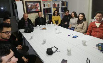 ULUSLARARASI GENÇ BİLİMCİLER AĞINDAN SASAM'A ZİYARET
