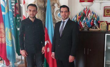SASAM İRAN MASASINDAN GÜNEY AZERBAYCAN TÜRK MİLLÎ HAREKETİ AKTİVİSTİ HARAY FETHİPUR'A ZİYARET