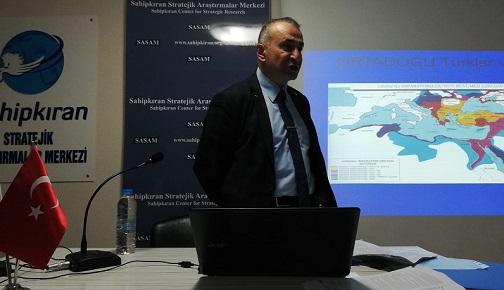 """""""ŞARK MESELESİ"""" BAŞLIKLI SÖYLEŞİMİZ GERÇEKLEŞTİ"""