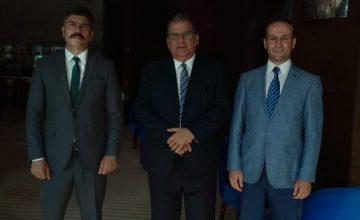 KKTC Çalışma ve Sosyal Güvenlik Bakanı, SASAM Yetkilileri ile Görüştü