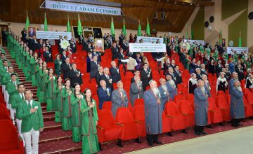 CONFERENCE OF THE PEOPLE'S COUNCIL OF TURKMENISTAN WAS HELD AT THE HIGH ORGANIZATIONAL LEVEL