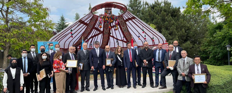 KAZAKİSTAN'DAN SASAM'A TEŞEKKÜR BELGESİ