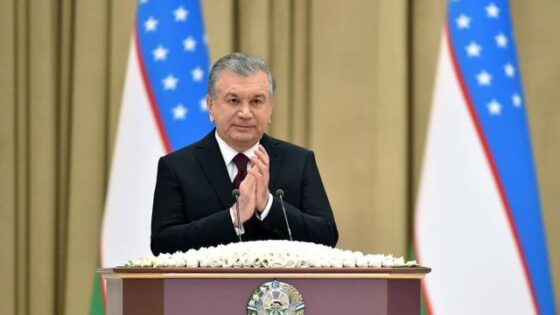 """Özbekistan Cumhurbaşkanı Mirziyoyev, """"Yeşil Büyüme ve Küresel Hedefler için Ortaklık – 2030"""" Uluslararası Zirvesine Katıldı"""